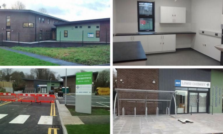 Brynhyfryd surgery approaches practical completion