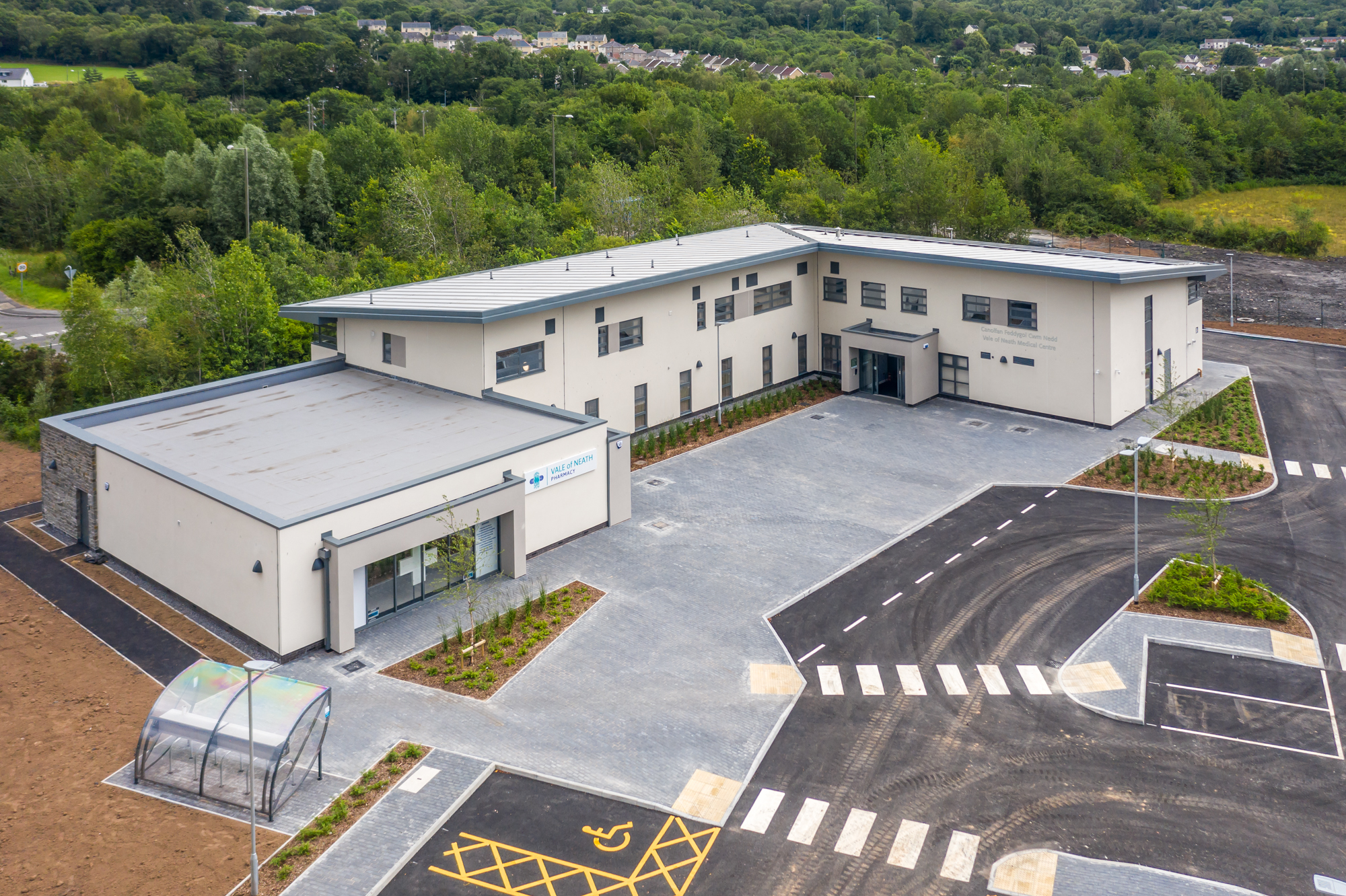 Vale Of Neath Medical Centre - Aerial View - WEB BASED FORMAT-1.jpg