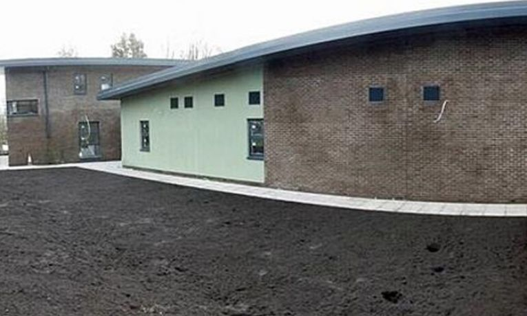 Modern primary care centre nears completion in Brynhyfryd, Wales