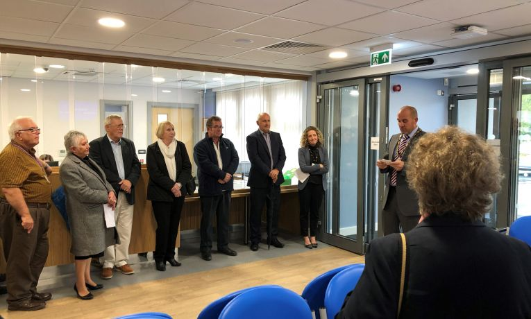 Vale of Neath medical centre in Wales has its official opening ceremony
