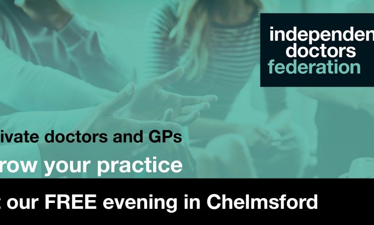 Register for the Independent Doctors Federation Regional Launch Evening in Ch...